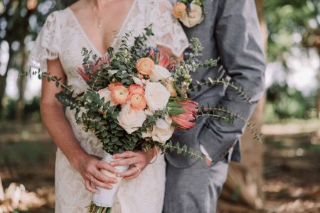 adventure couple outdoor wedding florida elopement videographer
