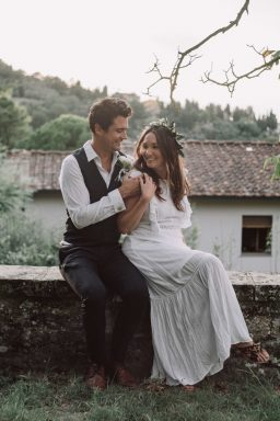 Italy intimate wedding elopement adventure film